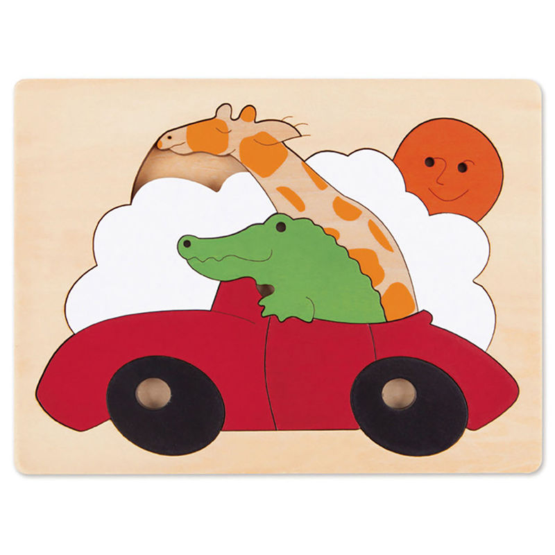 Hape sports car puzzel