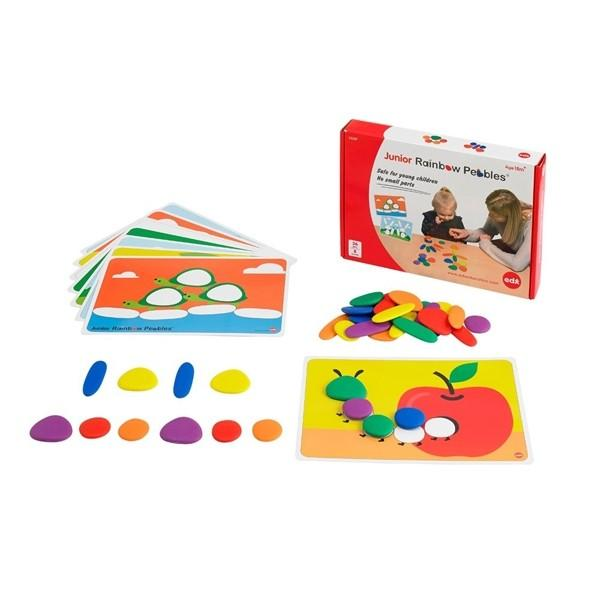 EDX Junior rainbow pebbles activity
