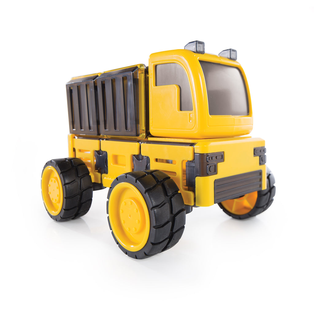 Guidecraft PowerClix construction vehicle set vrachtwagen