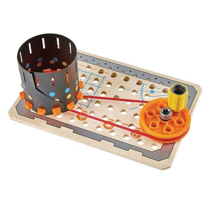 Hape junior uitvinder - science experiment toolbox: een experiment in actie