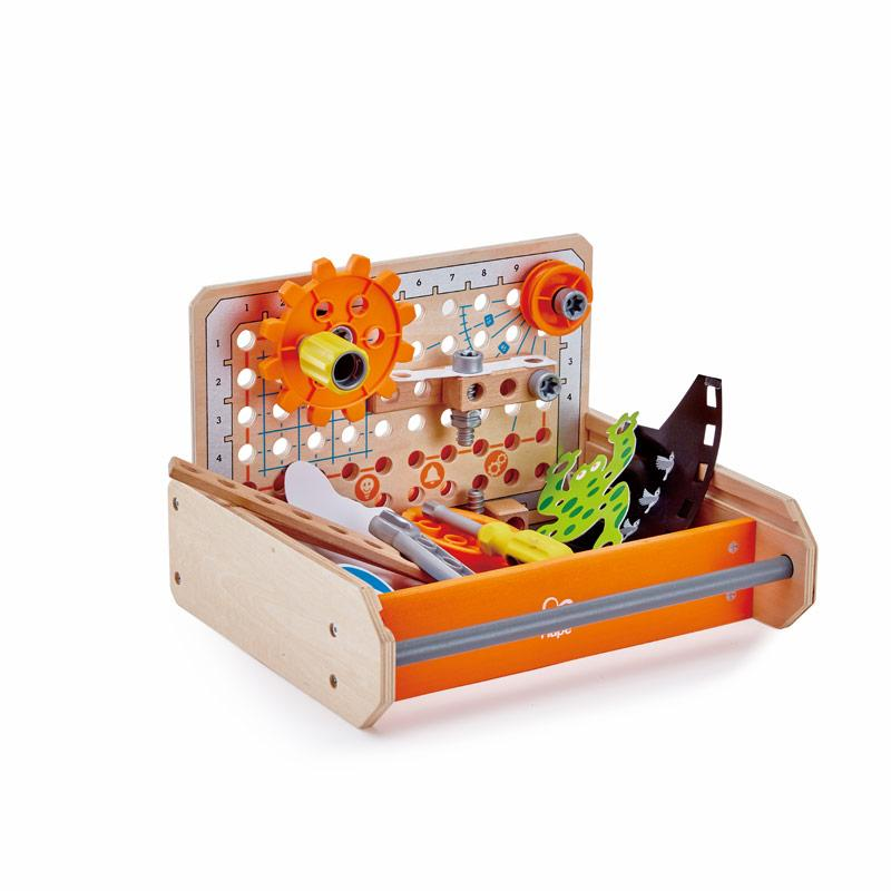 Hape junior uitvinder - science experiment toolbox