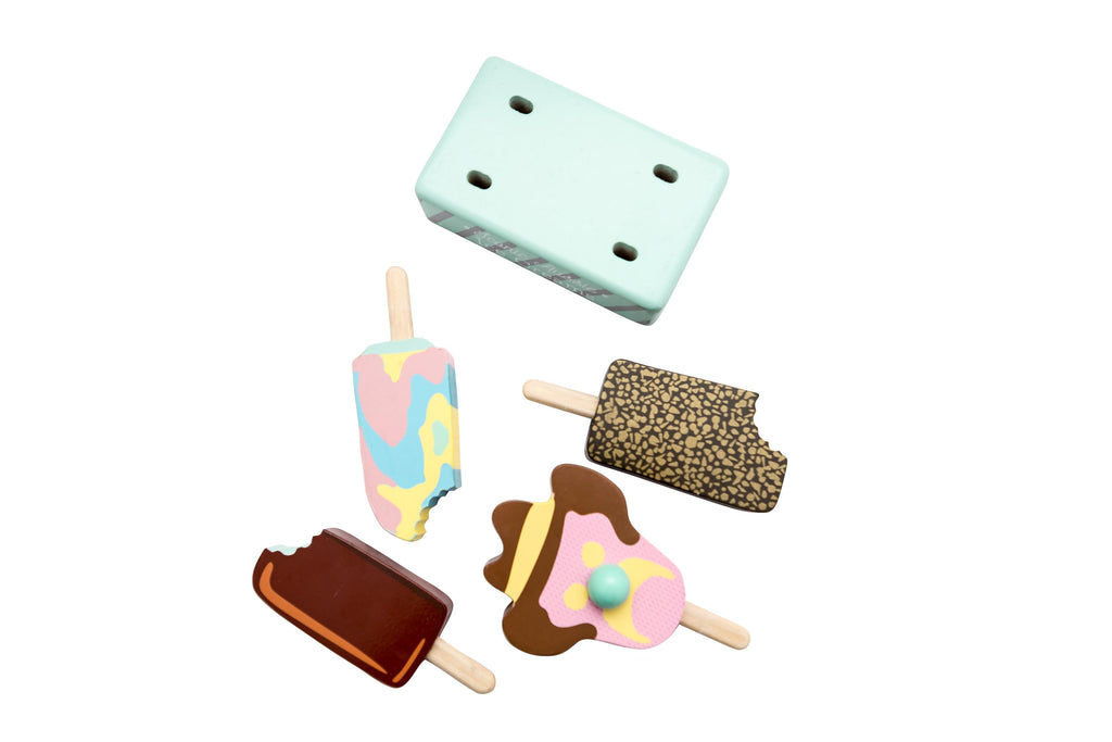 make me iconic ice cream houten ijs set