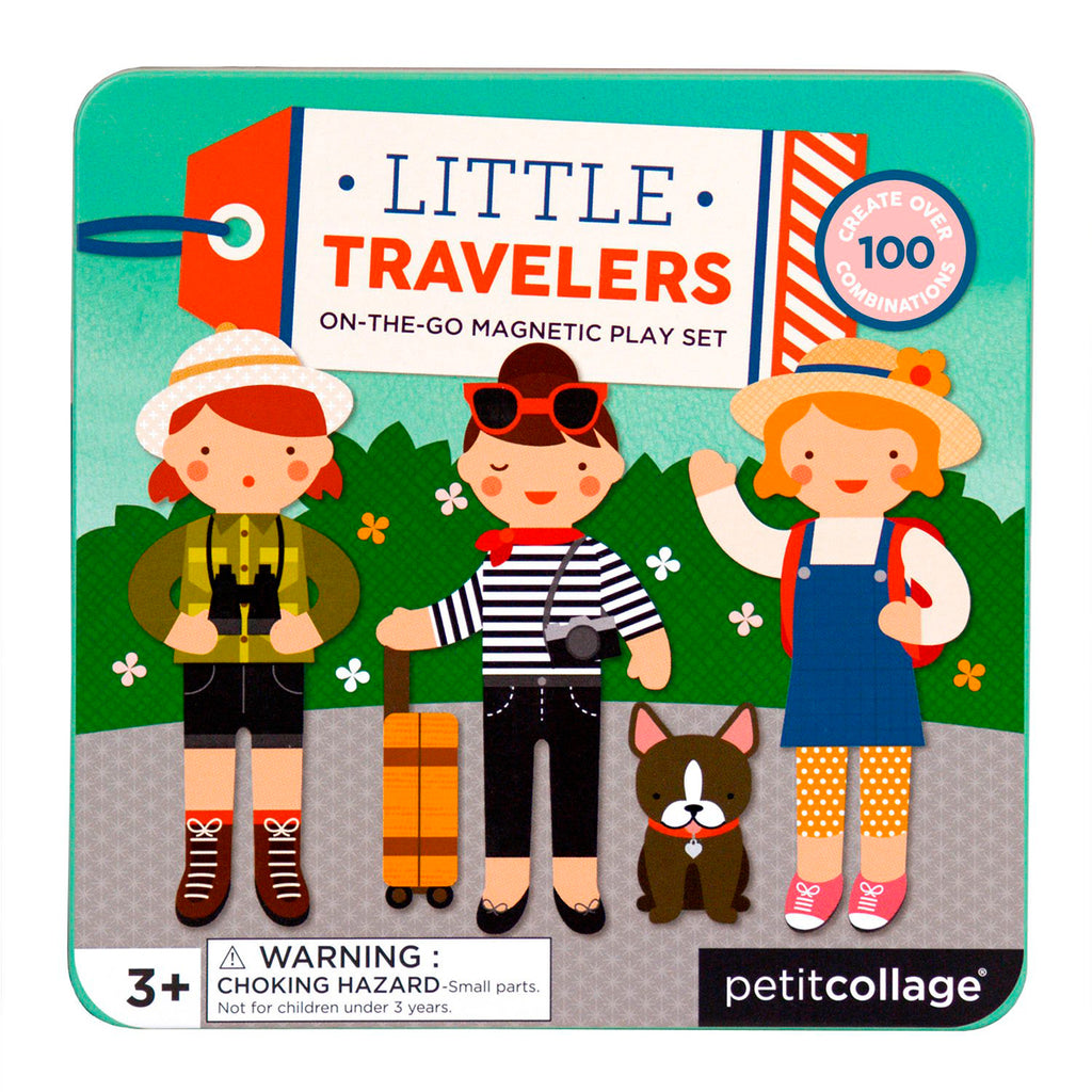 Petit Collage magnetisch spel Little Travelers