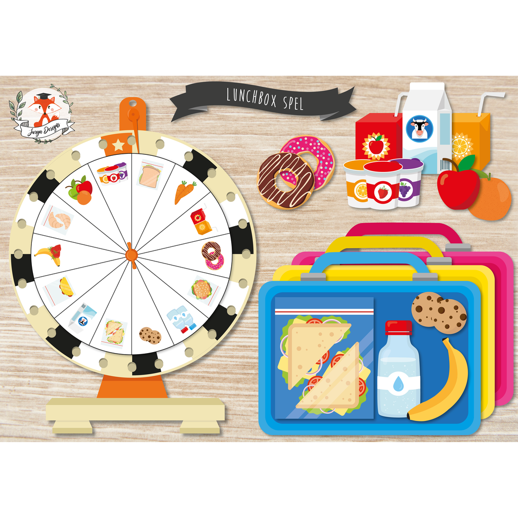 Juf Surya's Designs Lunchbox Spel