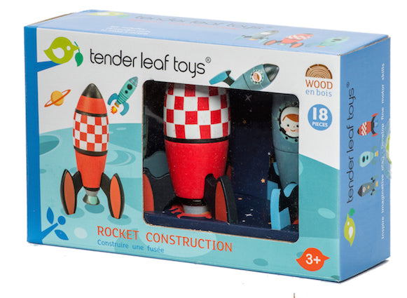 Tender Leaf rocket construction