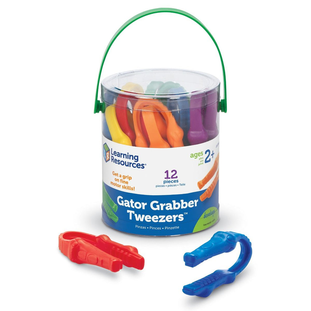 Learning Resources gator grabber tweezers - set van 12