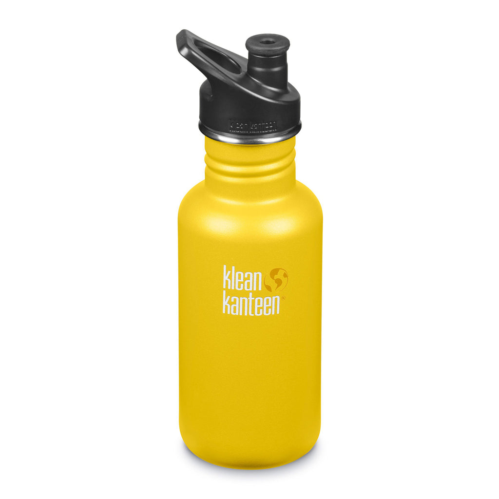 Klean Kanteen Classic Sport Cap 532ml lemon curry