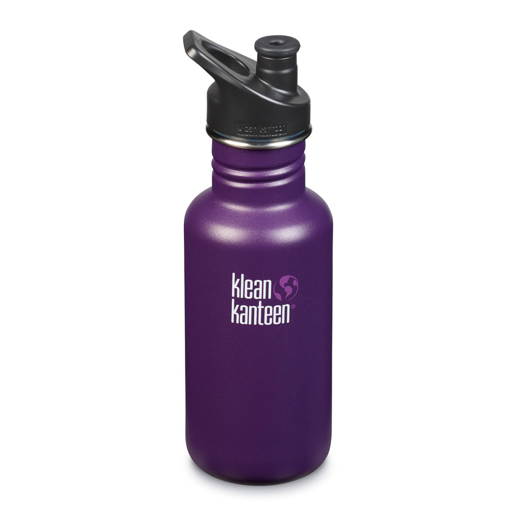 Klean Kanteen Classic Sport Cap 532ml winter plum