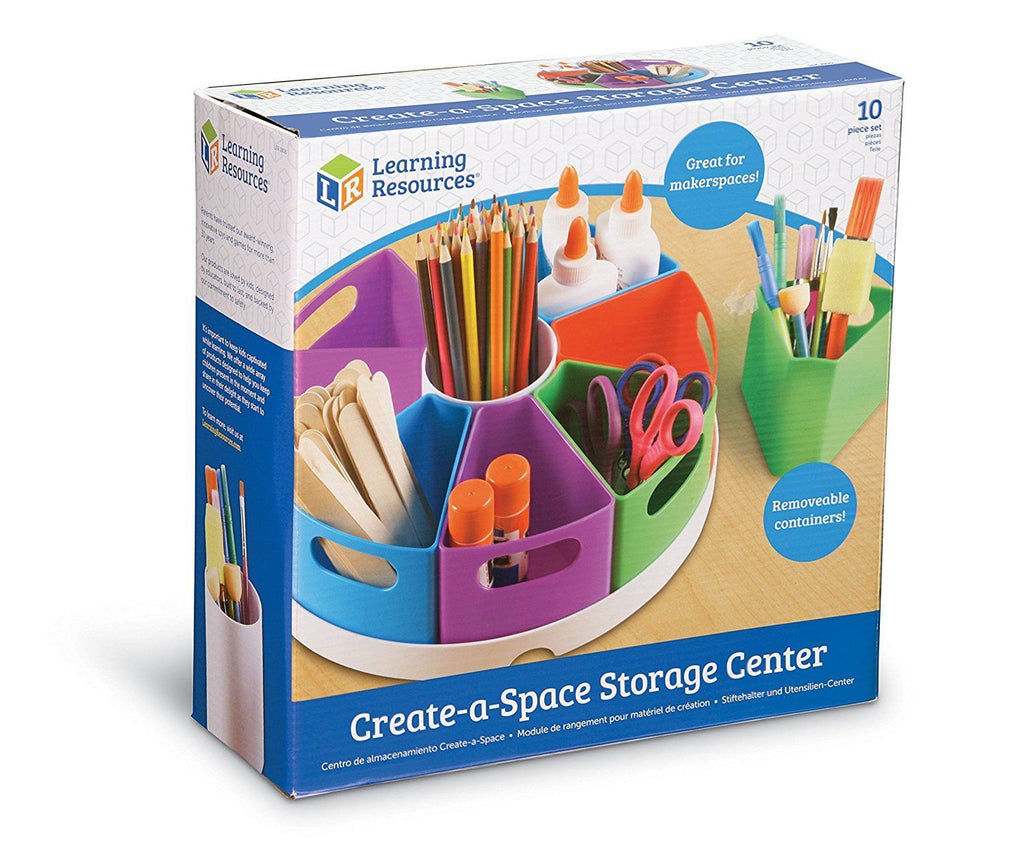 Learning Resources create-a-space houder verpakking opberger