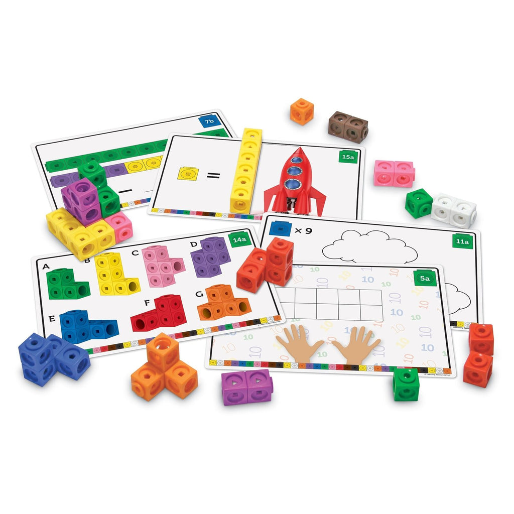 Learning Resources math links cubes activiteitenset