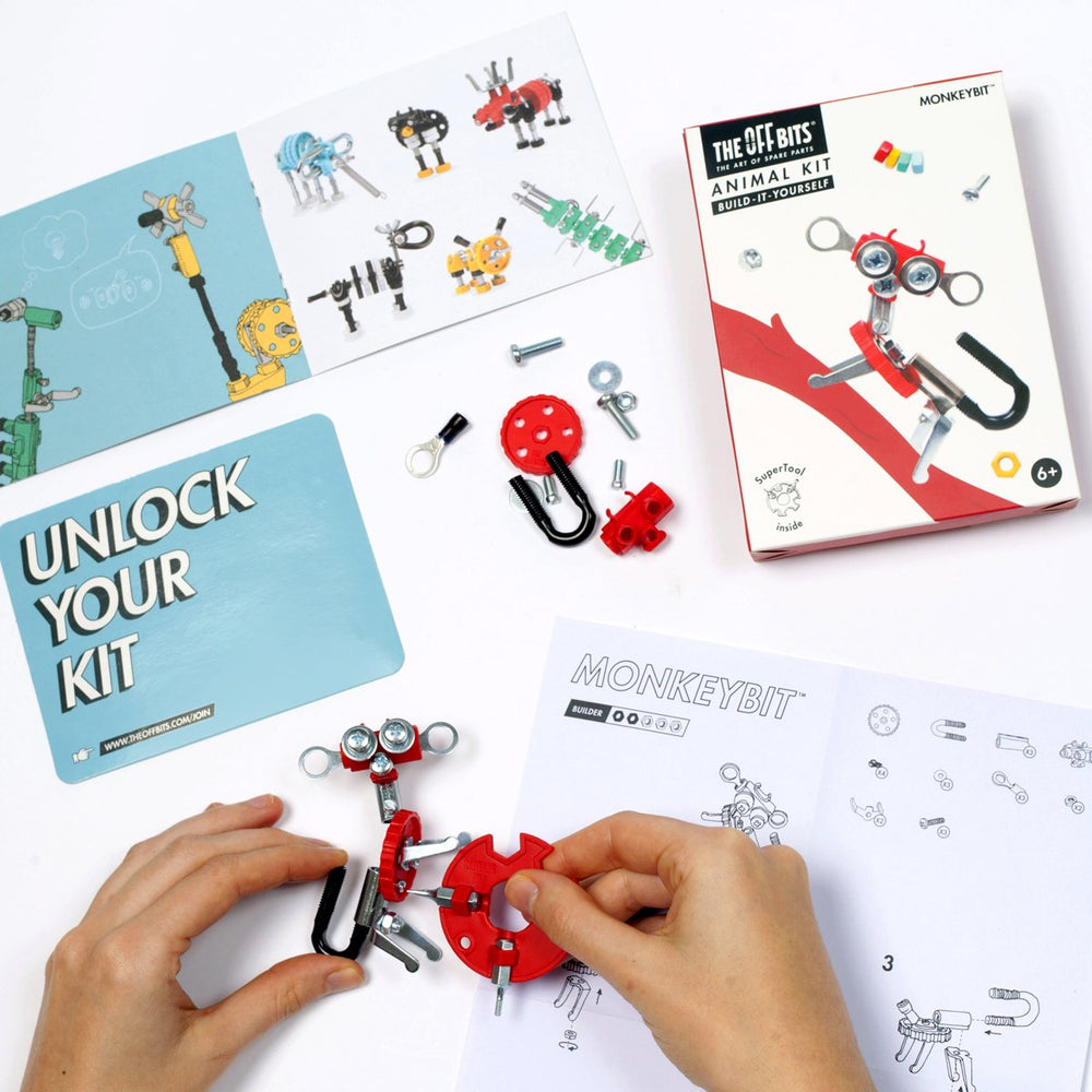 kit van Offbits Small: Dieren Kit MonkeyBit