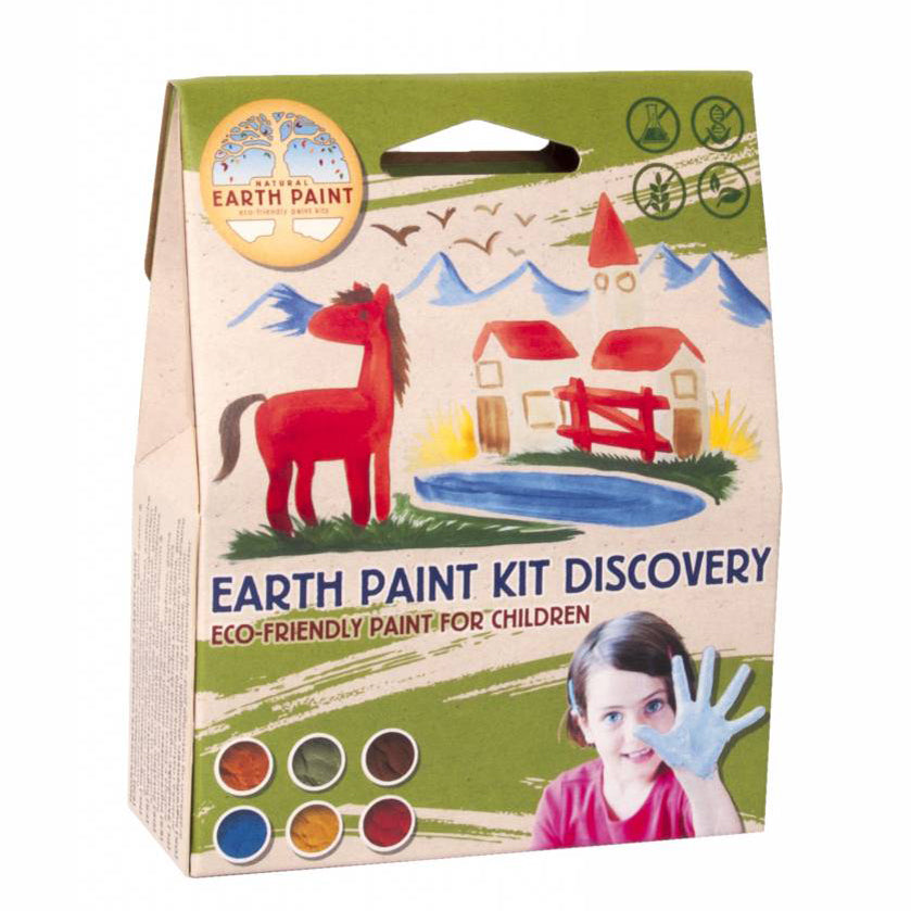 Natural Earth Paint kinderset discovery verpakking
