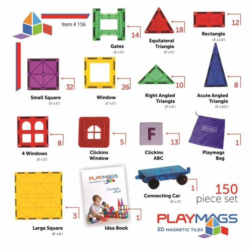 Playmags 150delige set