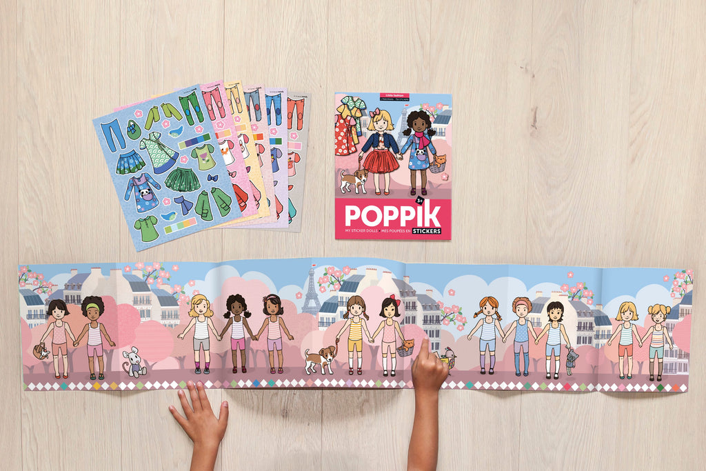 Poppik stickerset Fashion