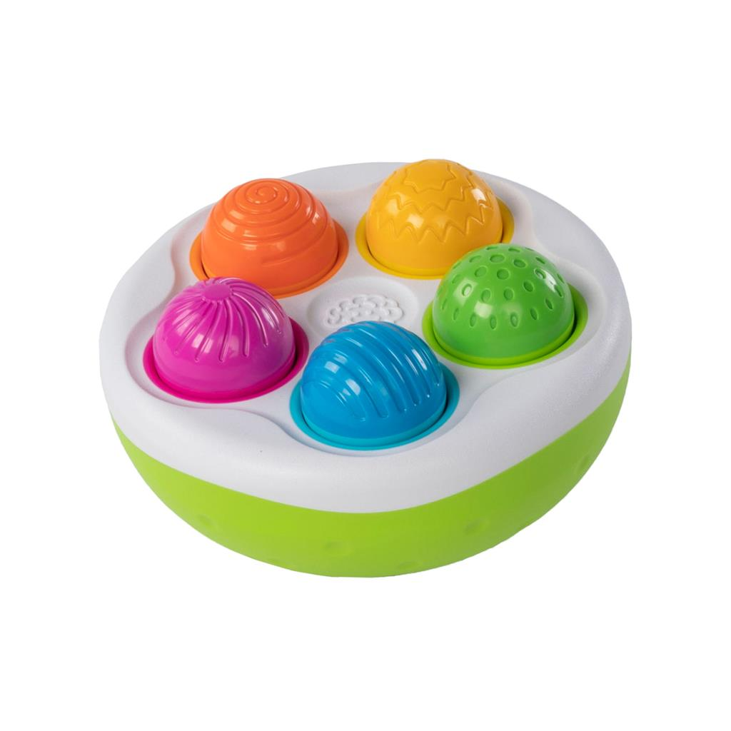 Fat Brain Toys spinny pins ondersteboven