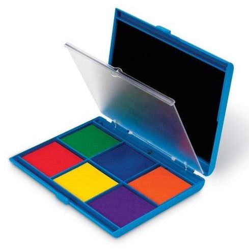 Learning Resources jumbo stempelpad met 7 kleuren