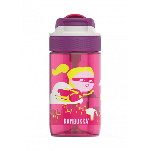 Kambukka Lagoon 400ml Flying Supergirl