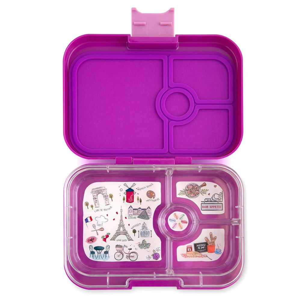 Yumbox Panino 4 vakken Bijoux purple / Paris tray