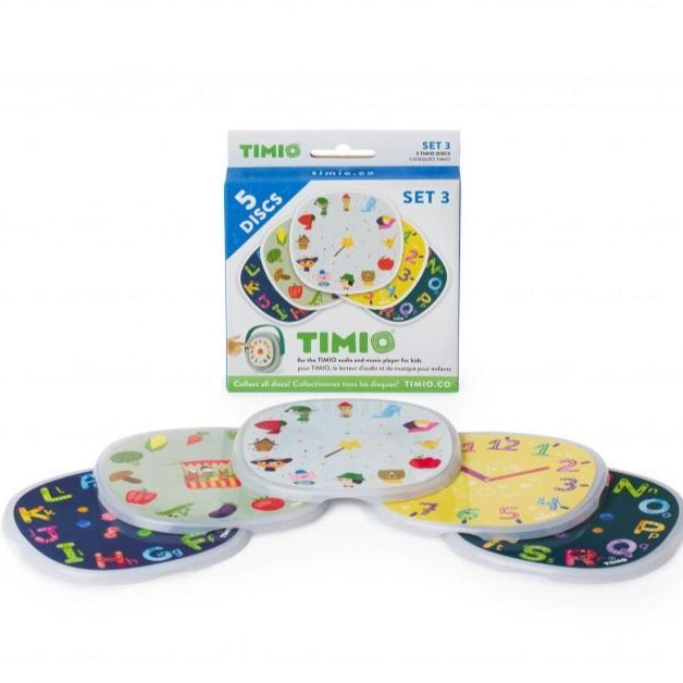 Timio disc pack set 3