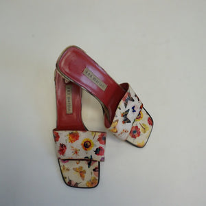 BUTTERLY HEELED SANDALS