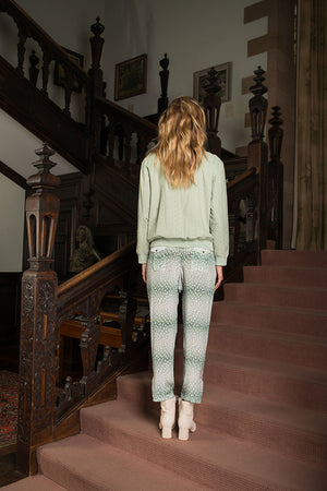 Charleston Drawstring Pants - Green