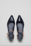 Engvik Flats - Black/Tan