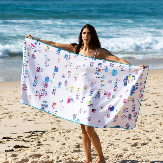 Beach Towel - Happy People