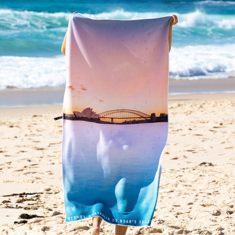 Beach Towel - Harbour Pastels