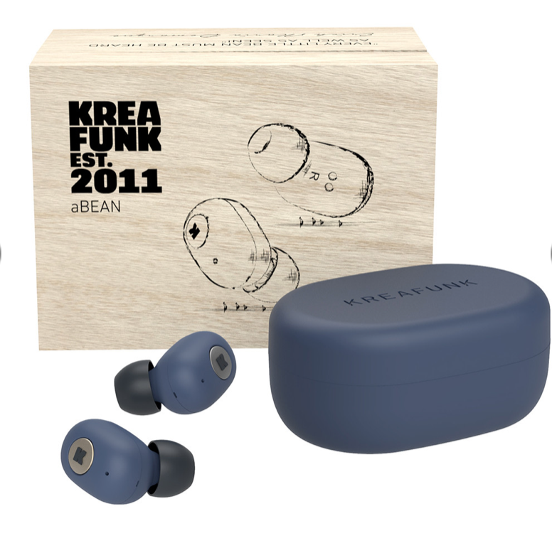 aBean KREAFUNK wireless headphones - Midnight Blue