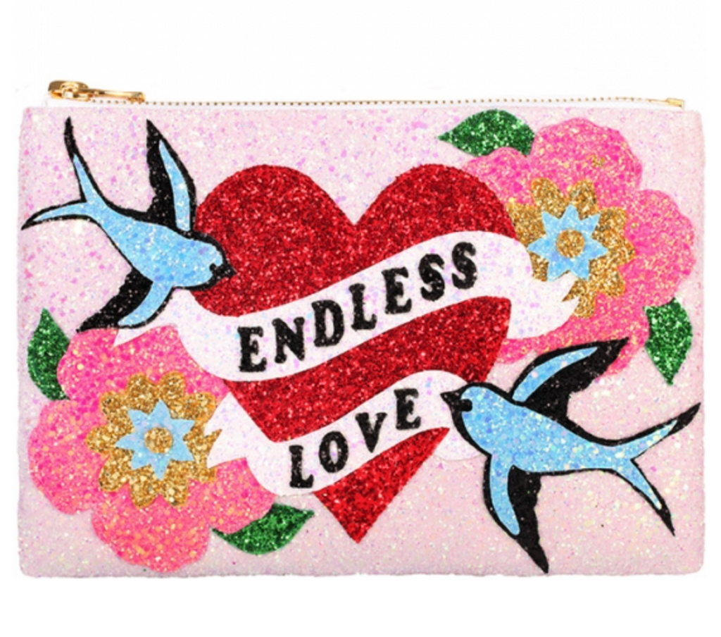 Endless Love Glitter Clutch