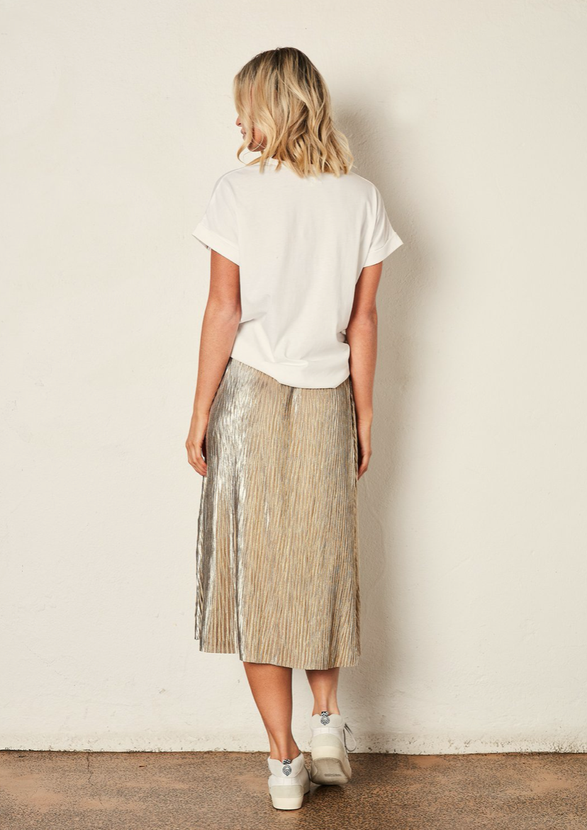 Shadow Skirt - Gold