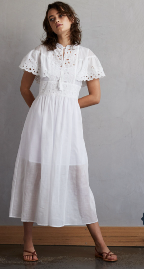 Faith Maxi Dress - Ivory