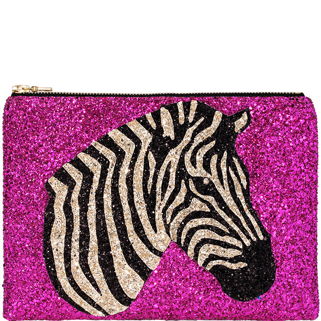 Zebra Clutch Bag