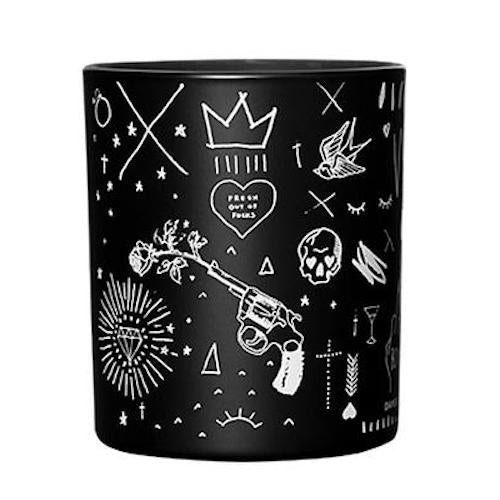 """Boy Bye"" Bad Bitch Club Candle in Black by Damesfly"