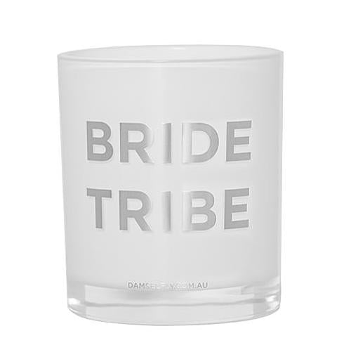 """Bride Tribe"" Candle in Silver by Damesfly"