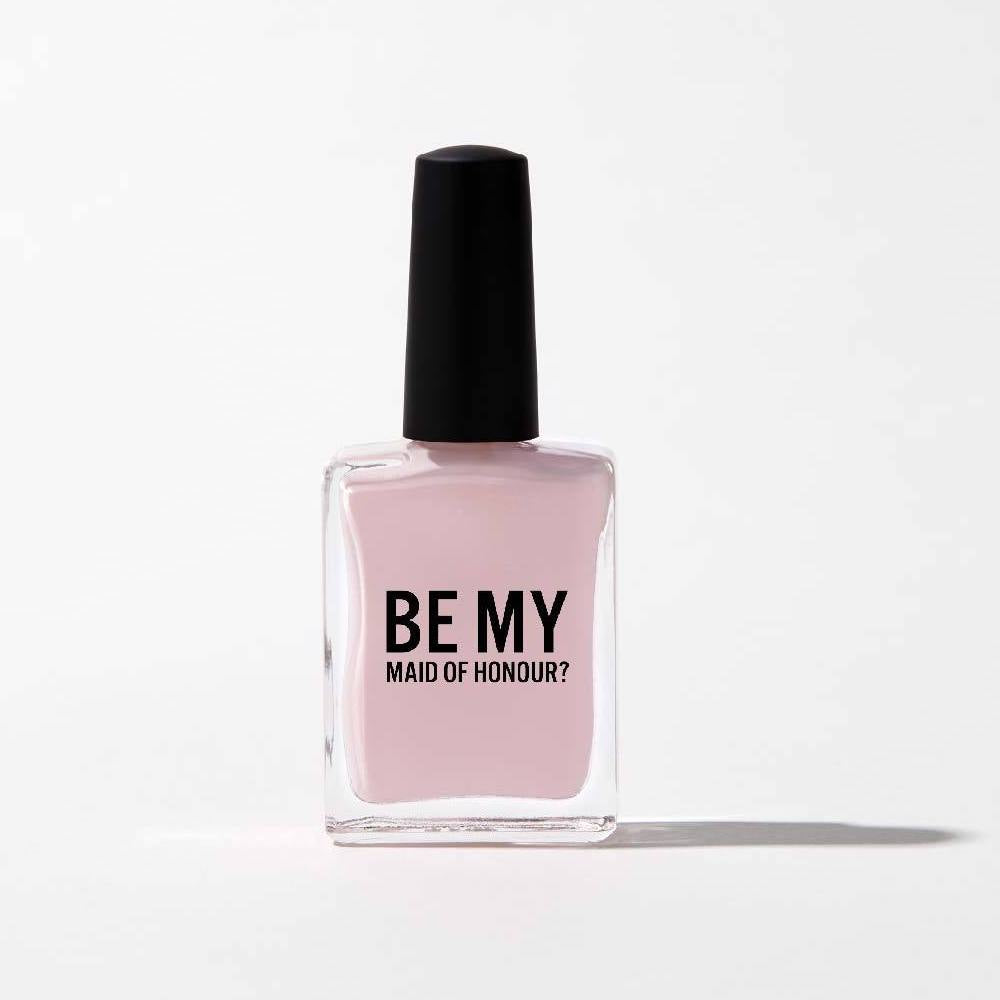 """Be My Maid of Honour"" Nail Polish - Nude Pink"
