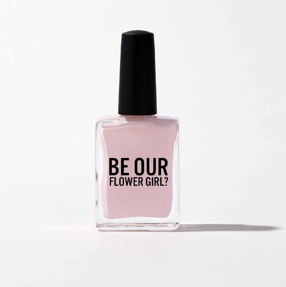"""Be Our Flower Girl"" Nail Polish - Nude Pink"