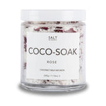 Cocosoak Rose Coconut Milk Bath Infusion  by Salt by Hendrix