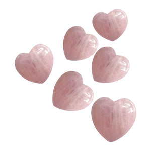 Rose Quartz Crystal Heart - Love