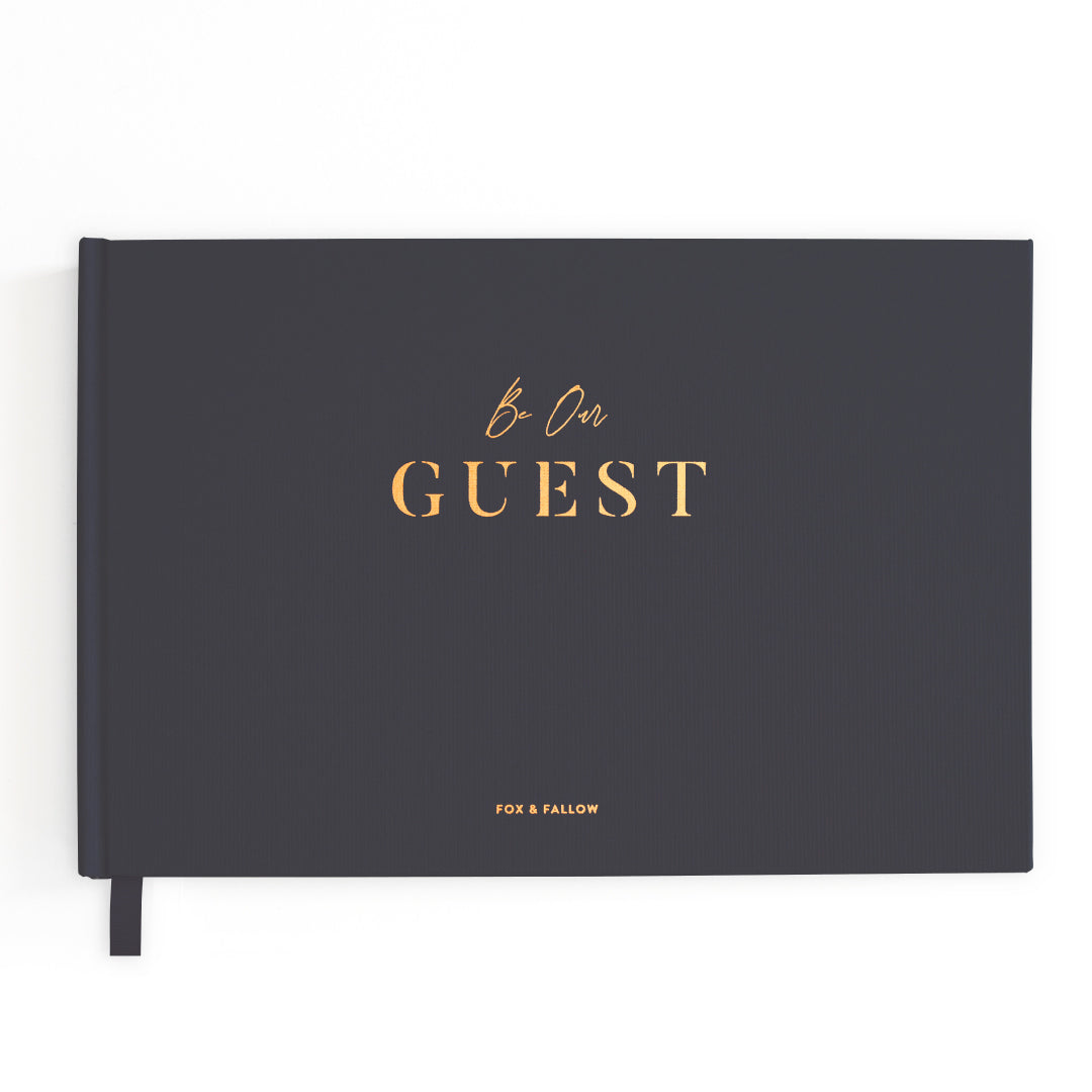 """Be Our Guest"" Wedding Guestbook by Fox + Fallow"