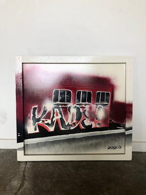 KADE 'Rollin' Thru Redfern '88' original artwork