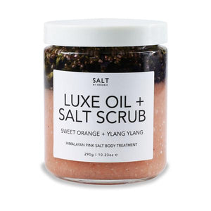 Sweet Orange + Ylang Ylang Luxe Body Oil + Salt Scrub
