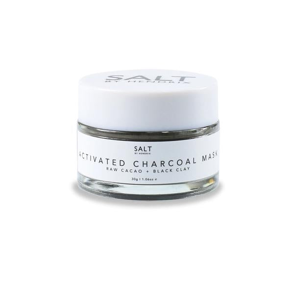Activated Charcoal Clay Face Mask by Salt by Hendrix