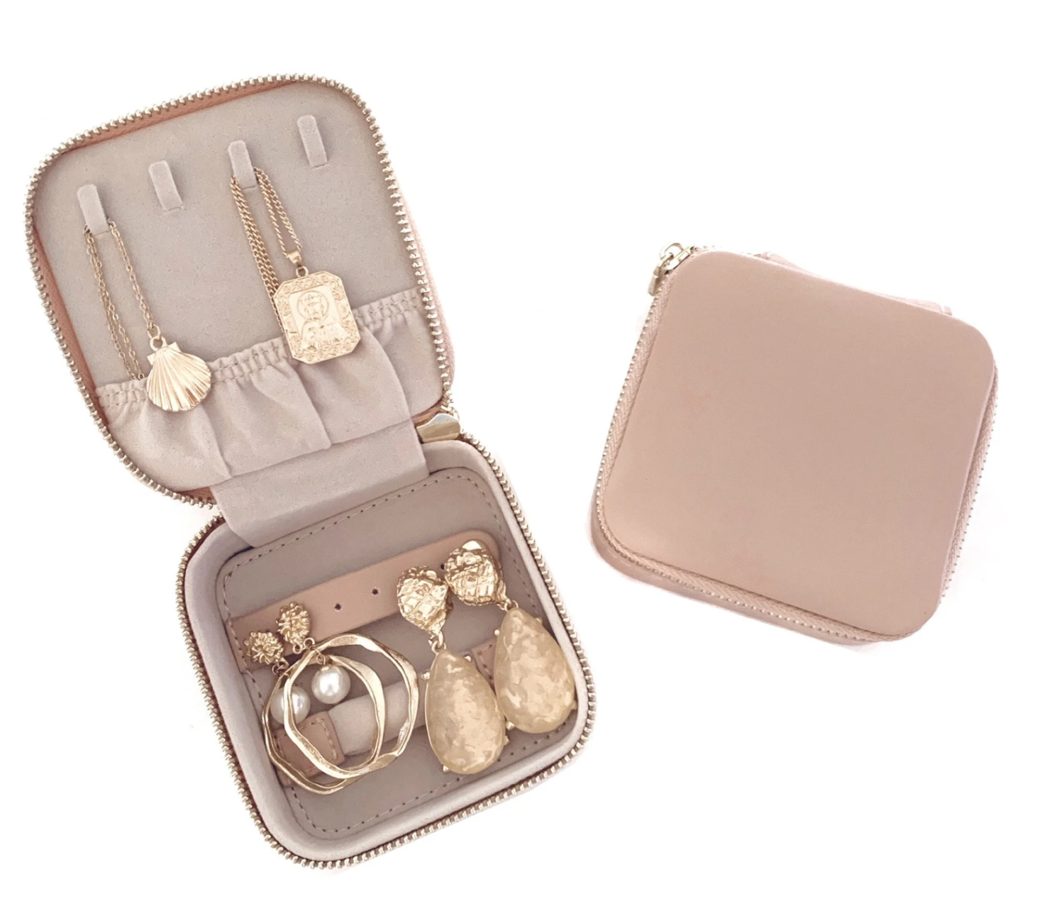 Leather Jewellery Case by JT Luxe