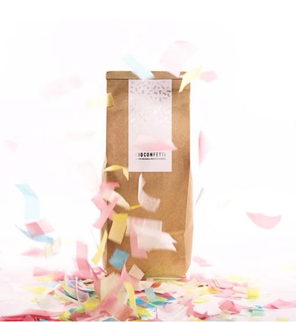 PRE ORDER Multicoloured Biodegradable Confetti