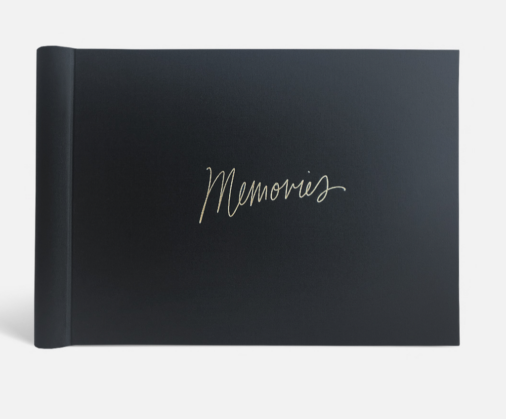 """Memories"" Black Luxe Photo Album by Blacklist"