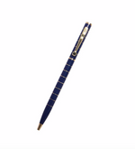 Navy + Gold Pen by Alice Pleasance