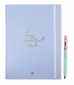 """A Very Important Date"" Wedding Journal Set by Alice Pleasance"