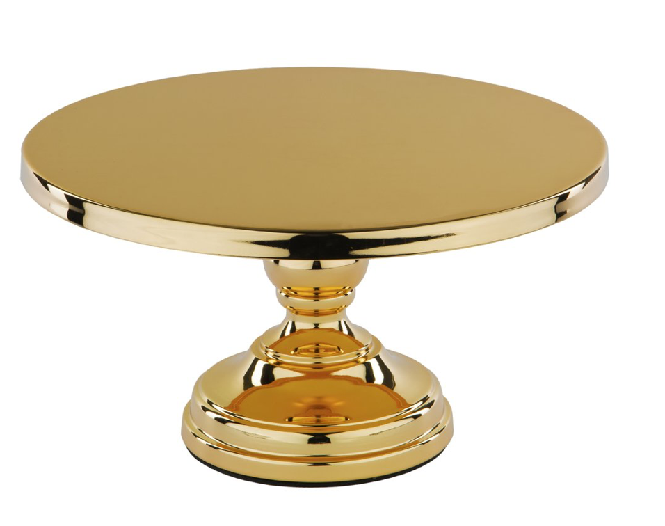 Metallic Gold Cake Stand