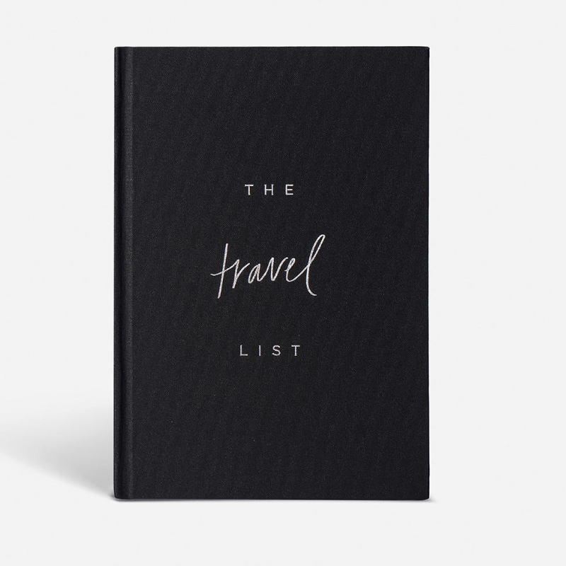 """The Travel List"" Honeymoon Planner Notebook by Blacklist"